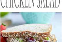 Lunch Recipes / Look here for Healthy Make Ahead Delicious Lunches. Paleo, Whole 30, Back to School, or Work Ideas ! Sandwiches, Simple Salads, Wraps and more!
