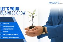 Mamsys Consulting Services Limited / Mamsys Consulting Services Ltd is a multifaceted new-age IT company which provides various services at one platform in a most comprehensive and result oriented manner.