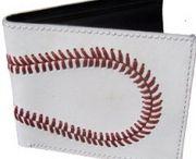 Baseball Walets, iPad couvers, Softball Wallets / Baseball accessories to purchase go to  woodbats4sale.com
