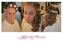 voor en na foto's van prachtige bruiden / Voor en na foto's van prachtige bruiden die hun bruidskapsel en bruidsmake-up hebben laten verzorgen door Bruid en Beauty Almere