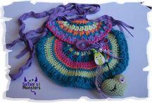 Crochet pattern / Tasche, Häkeln, crochet, purs free