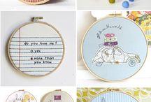 cute applique & embroidery