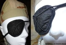 MemoryWireEyepatch / Shape memory alloy Frame Eyepatch X. In this Eyepatch With Wire Frame Adjustment Function.  $24 / 2.500円  http://www.iichi.com/listing/item/204890  http://eyepatchassociation.deviantart.com/art/Free-Wire-Frame-Eyepatch-X-418667502