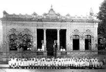 Antigo Grupo Escolar Cruz Machado- Hoje Museu da Escola Paranaense- Curitiba Paraná Brasil