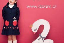 Jesień-Zima 2014 / Pierwsze ubranka z nowej kolekcji jesień-zima 2014 są już dostępne w sklepie internetowym na www.dpam.pl. Zajrzyjcie koniecznie co przygotowaliśmy dla Waszych pociech na tę porę roku :)