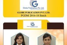 Congratulations for Placements in Globe Publication Private Limited