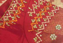 Silk Blouse Designs Weddings