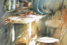 David Chauvin watercolor