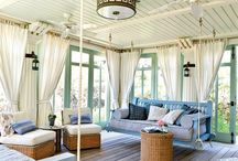 Sunrooms & Porches / Inspiring ideas for creating a sunroom, porch, conservatory, outdoor kitchen, or other space where you can soak up the sun!