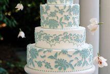 Wedding Cake Mood Board / by Natalie Lasance