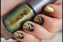 nail art / i don't really like do nail polish but collect these pictures makes me wanna polish my nail..lol