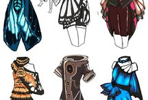 Inspirational Clothing / Parts or sketches of clothing that sparks the imagination