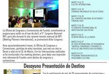 Newsletter / Boletín / Newsletter / Boletín generado por la Oficina de Congresos y Convenciones de Yucatán.