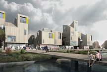 Mollendal Village, Bergen, Norway. Europan 13 / International Urban Design Competition