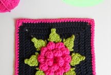 Crochet - Granny square patterns / Granny squares
