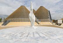 Seme dell'Altissimo - Expo 2015 / opera artistica presso il padiglione Zero - Expo Center
