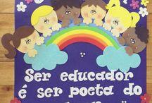 Cartaz p secretaria escolar