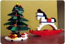 Mit LEGO-pynt