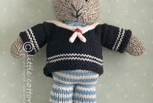 Rabbits / Knitting