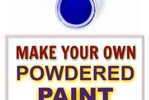 powdered paint