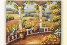 tablou rural