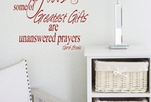 Wall Decals-Etsy / by Jessica Hetzel