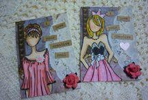 ATC Cards / Artist Trading Card Ideas / by Karla Yungwirth