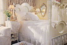 bedrooms / by The French Farmhouse