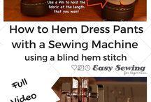 DIY - Sewing tutorials and tips