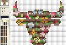 Free Cross Stitch Patterns / by Zombie Leah