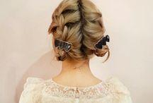 fancy hair.