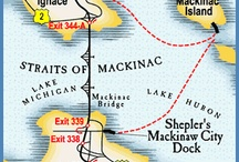 Race to Mackinac 2015 / Trip planning ideas for 4 days of fun :) / by Quinn V