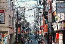 Korean/Japan/China street