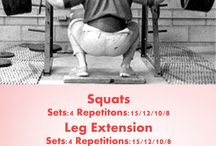 Workouts / Different types of workouts that you can use as inspiration!
