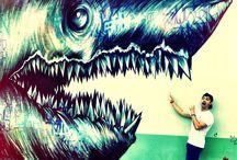 Street Art / The world is a canvas / by Rosaura Ochoa