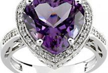 Amethyst Rings, Earrings and Pendants in Gold and Silver / Beautiful Natural Gemstone Jewelry of Amethyst. Explore beautiful and genuine gemstone rings, earrings and pendants. http://www.pippinbass.com/jewelry-catalog/shop-jewelry-by-gemstone-204/genuine-amethyst-jewelry