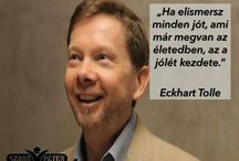 Eckhart Tolle / Eckhart Tolle is widely recognized as one of the most original and inspiring spiritual teachers of our time. He travels and teaches throughout the world.