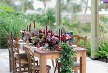 Floral table styling ideas