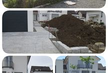 Gardens / Design and construction of a private garden in Germany