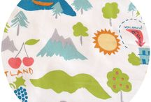Organic Fabric / Gorgeous Organic fabric for quilting and sewing