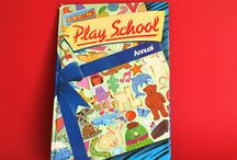 Play School BBC TV & ABC