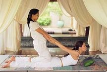 Thai massage- massage