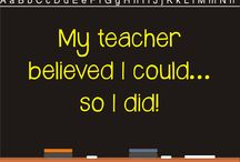Teaching Inspiration / Inspirational sayings about teaching.
