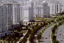 Azië (centr;) 6 Turkmenistan - Asjchabad / by Alphonsina Lavrysen
