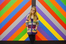 Everybody loves Sol LeWitt / Wall Drawing #1084 (2003) by Sol Lewitt is by far the favourite work to pose with. Keep sharing your pictures everyone!