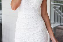 biale sukienki