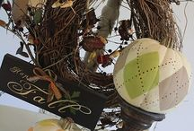 Fall/Thanksgiving Decorations / by Arlene Carr