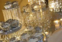 Bling table decorations
