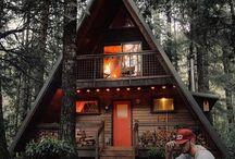 Morsomme hus og hytter