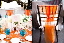 Irn Bru Wedding  / An Orange and Blue hued Big Day with just a wee bit of Scottish Fizz